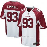 Camiseta Arizona Cardinals Campbell Blanco Rojo Nike Game NFL Nino