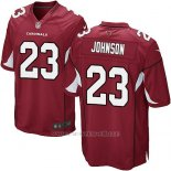 Camiseta Arizona Cardinals Johnson Rojo Nike Game NFL Nino2
