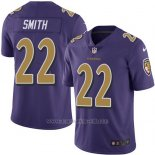 Camiseta Baltimore Ravens Smith Violeta Nike Legend NFL Hombre
