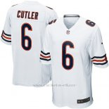 Camiseta Chicago Bears Cutler Blanco Nike Game NFL Hombre