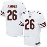 Camiseta Chicago Bears Jennings Blanco Nike Elite NFL Hombre