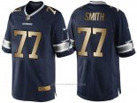 Camiseta Dallas Cowboys Smith Profundo Azul Nike Gold Game NFL Hombre