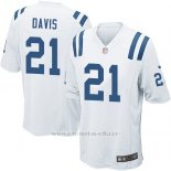 Camiseta Indianapolis Colts Davis Blanco Nike Game NFL Nino