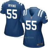Camiseta Indianapolis Colts Irving Azul Nike Game NFL Mujer
