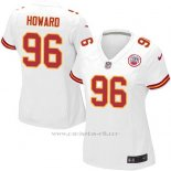 Camiseta Kansas City Chiefs Howard Blanco Nike Game NFL Mujer