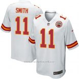 Camiseta Kansas City Chiefs Smith Blanco Nike Game NFL Nino