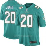 Camiseta Miami Dolphins Jones Verde Nike Game NFL Nino