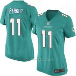 Camiseta Miami Dolphins Parker Verde Nike Game NFL Mujer