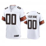 Camiseta NFL Game Cleveland Browns Personalizada 2020 Blanco