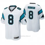 Camiseta NFL Game Hombre Carolina Panthers Aldrick Robinson Blanco
