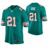 Camiseta NFL Game Hombre Dolphins Frank Gore Throwback Verde