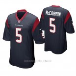 Camiseta NFL Game Hombre Houston Texans Aj Mccarron Azul