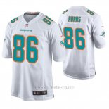 Camiseta NFL Game Hombre Miami Dolphins Allen Hurns Blanco
