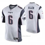Camiseta NFL Game Hombre New England Patriots Ryan Allen Blanco