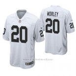 Camiseta NFL Game Hombre Oakland Raiders Daryl Worley Blanco