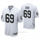 Camiseta NFL Game Hombre Oakland Raiders Denzelle Good Blanco