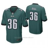 Camiseta NFL Game Hombre Philadelphia Eagles Deiondre' Hall Verde
