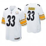 Camiseta NFL Game Hombre Pittsburgh Steelers Trey Edmunds Blanco