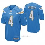 Camiseta NFL Game Hombre San Diego Chargers Michael Badgley Powder Azul