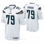 Camiseta NFL Game Hombre San Diego Chargers Trey Pipkins Blanco