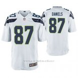 Camiseta NFL Game Hombre Seattle Seahawks Darrell Daniels Blanco