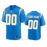 Camiseta NFL Game Los Angeles Chargers Personalizada Powder 2020 Azul