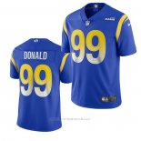 Camiseta NFL Game Los Angeles Rams 99 Aaron Donald 2020 Vapor Azul