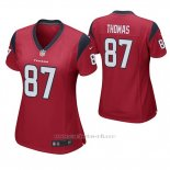 Camiseta NFL Game Mujer Houston Texans Demaryius Thomas Rojo