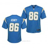Camiseta NFL Game Nino Los Angeles Chargers Hunter Henry 2020 Azul