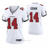 Camiseta NFL Game Tampa Bay Buccaneers Chris Godwin Blanco2