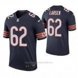 Camiseta NFL Legend Hombre Chicago Bears Ted Larsen Azul Color Rush