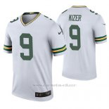Camiseta NFL Legend Hombre Green Bay Packers Deshone Kizer Blanco Color Rush