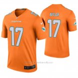 Camiseta NFL Legend Hombre Miami Dolphins Brice Butler Naranja Color Rush