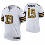 Camiseta NFL Legend Hombre New Orleans Saints Keith Kirkwood Blanco Color Rush