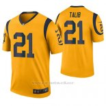 Camiseta NFL Legend Hombre St Louis Rams Aqib Talib Oro Color Rush