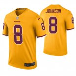 Camiseta NFL Legend Hombre Washington Redskins Josh Johnson Oro Color Rush