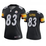 Camiseta NFL Legend Mujer Pittsburgh Steelers Chase Claypool Negro