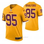 Camiseta NFL Legend Washington Redskins Jordan Brailford Color Rush Amarillo