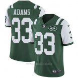 Camiseta NFL Limited Hombre 33 Adams New York Jets Verde