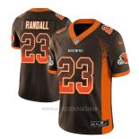 Camiseta NFL Limited Hombre Cleveland Browns Damarious Randall Marron 2018 Drift Fashion Color Rush