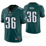 Camiseta NFL Limited Hombre Philadelphia Eagles Deiondre' Hall Verde Vapor Untouchable