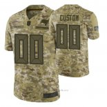 Camiseta NFL Limited Tampa Bay Buccaneers Personalizada Salute To Service Verde