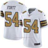 Camiseta New Orleans Saints Fortt Blanco Nike Legend NFL Hombre