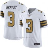 Camiseta New Orleans Saints Hebert Blanco Nike Legend NFL Hombre