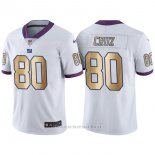 Camiseta New York Giants Cruz Blanco Nike Gold Legend NFL Hombre