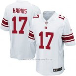 Camiseta New York Giants Harris Blanco Nike Game NFL Nino
