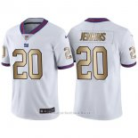 Camiseta New York Giants Jenkins Blanco Nike Gold Legend NFL Hombre