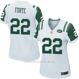 Camiseta New York Jets Forte Blanco Nike Game NFL Mujer