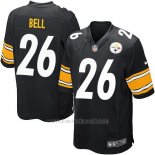 Camiseta Pittsburgh Steelers Bell Negro Nike Game NFL Nino