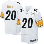 Camiseta Pittsburgh Steelers Bleier Blanco Nike Game NFL Nino